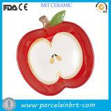 Het decoratieve Fruit vormde de Ceramische Plaat van Af:drukken