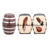 Quercia Barrel Shaped Wine Gift Set (608012-B)