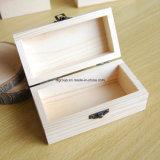 Elemento portante di legno del vino personalizzato supporto di qualità superiore di legno di pino con la maniglia