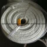 Type d'isolation à haute température Cordage en fibre de verre Cordure d'emballage carrée
