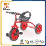Triciclo de crianças simples com caixa de metal barato mais vendido da China
