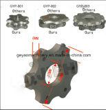 6.6kw/9.0HP de Vloer Leveler gye-250 van de Scarificator van het asfalt