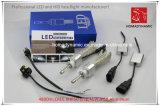 Linterna de la viruta LED del CREE de la luz 9004 del coche del LED