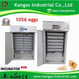 Incubateur complètement automatique d'oeufs de poulet de la marque 2017 neuve pour 1056 oeufs