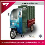 Carregamento de elevação /triciclo a motor de três rodas/ Não de lona com