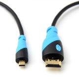 Micro 2017 à grande vitesse au câble de HDMI avec l'Ethernet