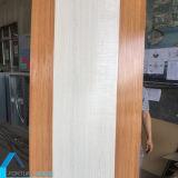 Melamina horizontal y vertical de la piel de la puerta hecha frente