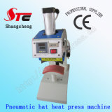 Hot Sale Pneumatic Cap Heat Press Machine 8 * 15cm Automatique Cap Heat Transfer Machine Machine à imprimer chauve-souris pneumatique Hat Heat Press Machine Stc-Qd13
