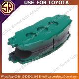 トヨタのための高品質の自動車部品ブレーキパッド04465-02220の使用
