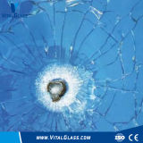 10mm Clear Float Glass Bullet Proof Glass Bent Tempered Glass