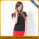 Vêtements bon marché de femme de polyester du coton 65% de la coutume 35%