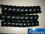 Proteção de proteção de borda em espiral de plástico quente para mangueira de borracha hidráulica