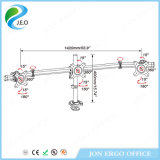 Support réglable de moniteur de cornière en aluminium de Jn-MP330gl