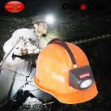 Linterna LED de carbón de Kl4.5lm del minero sin hilos de la mina