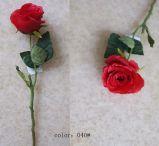 Fleurs artificielles de Rose allemande 42cm Gu-D70242