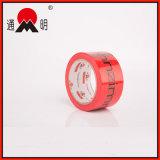 Kundenspezifisches Rot gedrucktes verpackenband für Karton-Dichtung