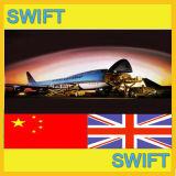 Transporte aéreo de Guangzhou, Shanghai China a Londres, Reino Unido