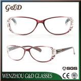 Última Moda óculos de leitura de PC da estrutura óptica
