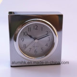 Despertador silencioso del cuerpo del metal para el despertador de la tabla del hotel