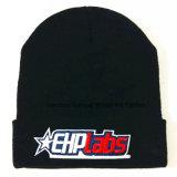100% Bordadas Acrílico Hat Tampa de malha de malha Beanie Hat