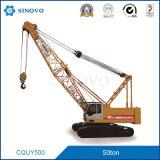 Gru cingolata idraulica CQUY550 per il sollevamento nella costruzione