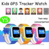 L'écran tactile GPS badine la montre de traqueur avec le positionnement duel de Lbs+GPS (Y5)