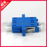 LCのデュプレックスシングルモードプラスチック光ファイバアダプター