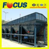 Pequeña planta vendedora caliente del asfalto 40t/H, planta de procesamiento por lotes por lotes del asfalto inmóvil