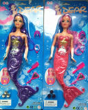 Kinder Inch 11.5 Mermaid Doll Toy für Christmas mit Light Battery