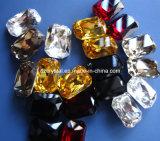 De in het groot Toebehoren van het Bergkristal van het Kristal van het Punt Achter voor het Maken van Juwelen