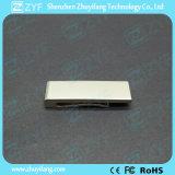 2017 로고 (ZYF1758)를 가진 새로운 디자인 금속 클립 USB 섬광 드라이브