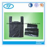 Оптовый черный тип мешок тельняшки отброса мешка руки