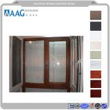 건설사업 파트너 Windows 공급자 두 배 공장 가격 6mm+12A+6mm에 열리는 알루미늄 단면도 여닫이 창 Windows가 알루미늄 Windows를 윤이 났다