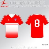 Uniformes de fútbol de diseño nuevo, Sublimaion Football Uniform