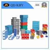Caixa de recipiente de paletes de plástico forte e grande
