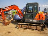 Máquina escavadora usada de Daewoo Dh55 para a venda