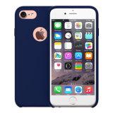 Original de tres capas de silicona caso Líquido Revestimientos de tela para el iPhone 6 / 6s / 6plus