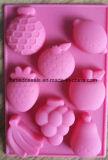 Прессформы торта силиконовой резины качества еды формы плодоовощ