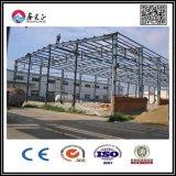 Fortalecer la estructura de acero de alta Hangar con puerta Industrial