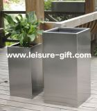 Fo-9006 Garden Landscape Maceta con material de acero inoxidable