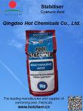 China reempaquetador y productor de ácido cianúrico (ICA) Estabilizador de la piscina