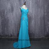 Платье выпускного вечера партии вечера длины Sheathfloor женщин шифоновое Beaded длиннее