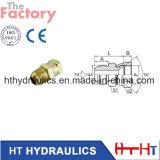 Adaptateur hydraulique de boyau de mâle de Jic/portée de la femelle 74 (2J)