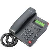 Multilingue 2 lignes de téléphone VoIP Entrée de gamme