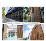 Строительного материала решетин WPC WPC доски твердого декоративного декоративные