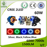 Наивысшая мощность 60W СИД Motorcycleheadlight CREE U7