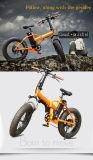 Cer-Anerkannter 36V 250W fetter Gummireifen-elektrische faltende Fahrräder