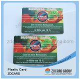 Kunststoff-Visitenkarte ISO-9001