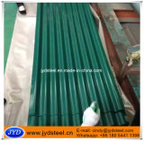 Hojas acanaladas del material para techos de PPGI/PPGL