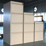 Gabinete vertical de Fliing das gavetas comerciais do metal 3 do uso do escritório